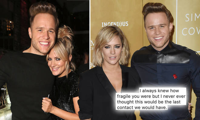Olly Murs shared a heartbreaking tribute to friend Caroline Flack