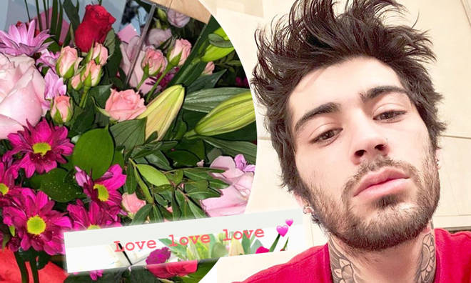 Zayn sends his mum and sisters flowers on Valentine's Day