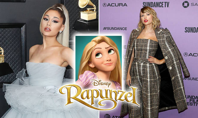 Disney announced a Rapunzel live-action remake and fans Ariana Grande & Taylor Swift to be considered