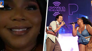Lizzo opened up to collaborating with Harry Styles
