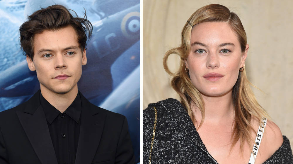 Harry Styles and girlfriend Camille Rowe split after one
