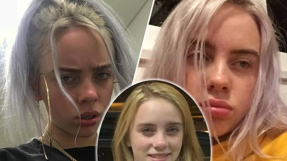 Billie Eilish reveals her natural hair colour in Instagram throwback