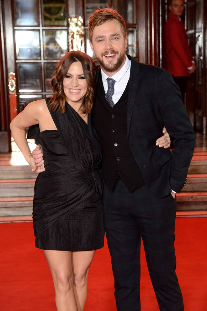 Iain Stirling said a beautiful message as part of a tribute to Caroline Flack