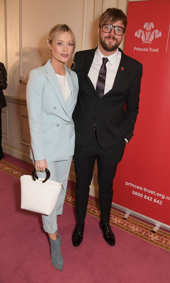 Laura Whitmore showed her support for her boyfriend after his tribute aired