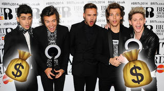 One Direction have racked up huge individual net worths