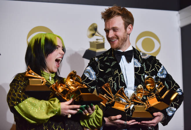 Billie Eilish and Finneas write most of her music together
