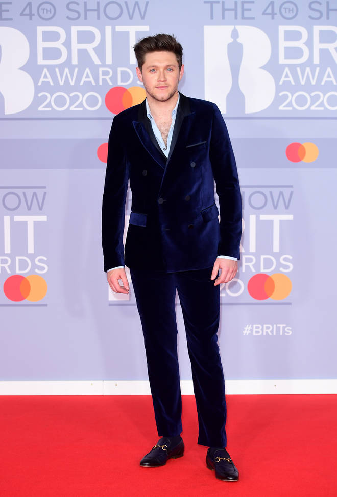 Niall Horan looks super suave on the red carpet