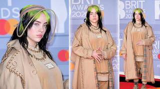 Billie Eilish brought some serious style to the 2020 BRITs