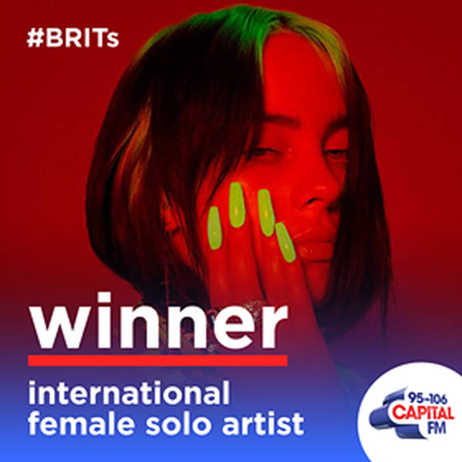 Billie Eilish got emotional over winning her BRIT award