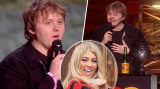 Lewis Capaldi shouts out Love Island ex Paige Turley during BRITs speech