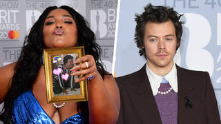 Lizzo spoke about her backstage chats with Harry Styles