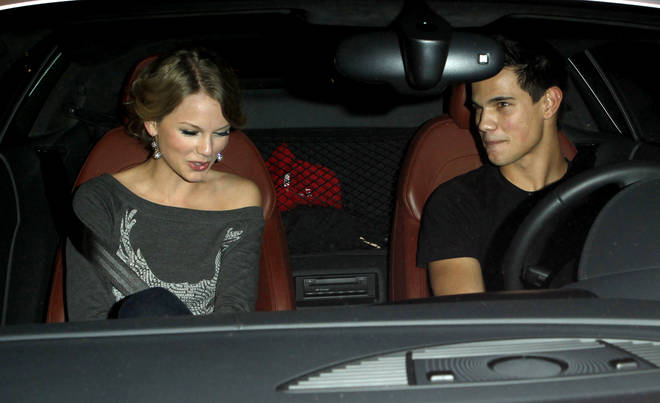 Taylor Swift and Taylor Lautner dated after filming Valentine's Day together