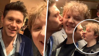 Lewis Capaldi and Niall Horan had a boat party after the BRITs