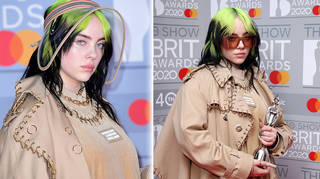 Billie Eilish's hairstylist explained how she got ready for the BRITs
