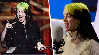Billie Eilish reacted to her big BRITs 2020 win