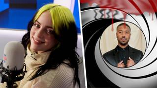 Billie Eilish chose Michael B Jordan to play the next 007