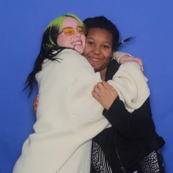 Billie Eilish met Marisa, a 16-year-old fan