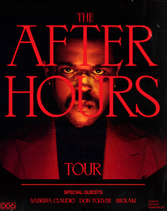 The Weeknd announces After Hour World Tour