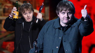 Lewis Capaldi was criticised for drinking at The BRITs