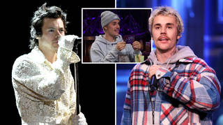Justin Bieber asked if he or Harry Styles are more talented