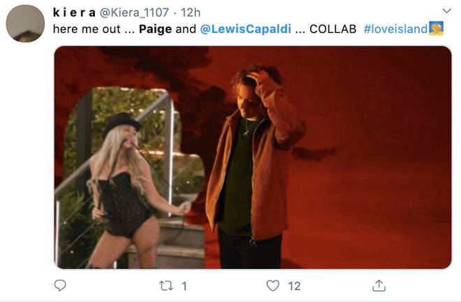 Fans want Paige Turley and Lewis Capaldi to get in the studio together