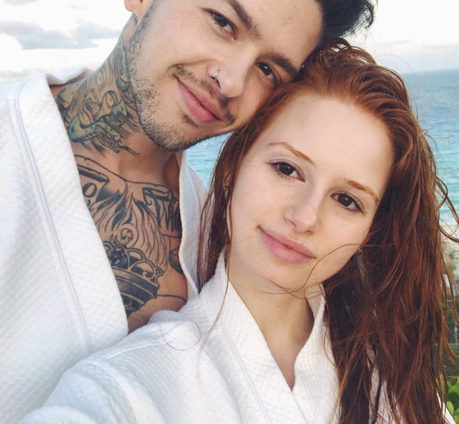 Madelaine Petsch and Travis Mills were in a relationship for three years