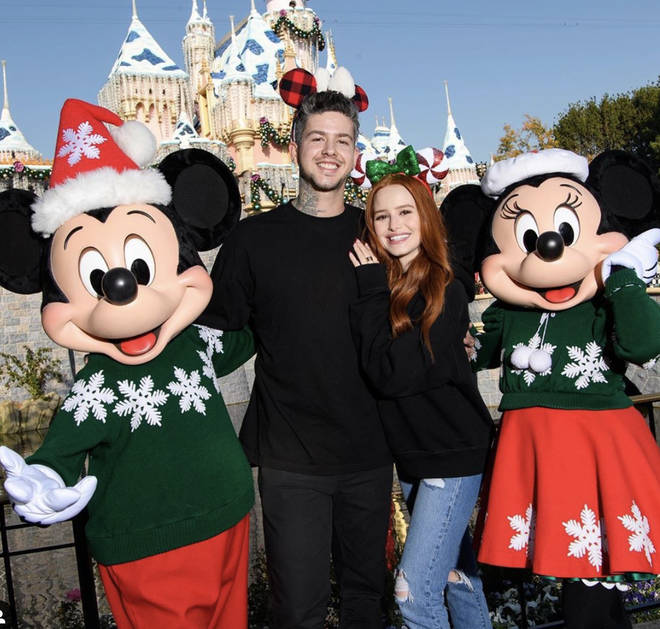 Madelaine Petsch and Travis Mills were last publicly pictured at Disneyland