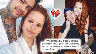 Madelaine's ex penned a heartwarming post about their break-up