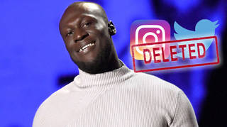 Stormzy has had his Twitter and Instagram accounts deleted