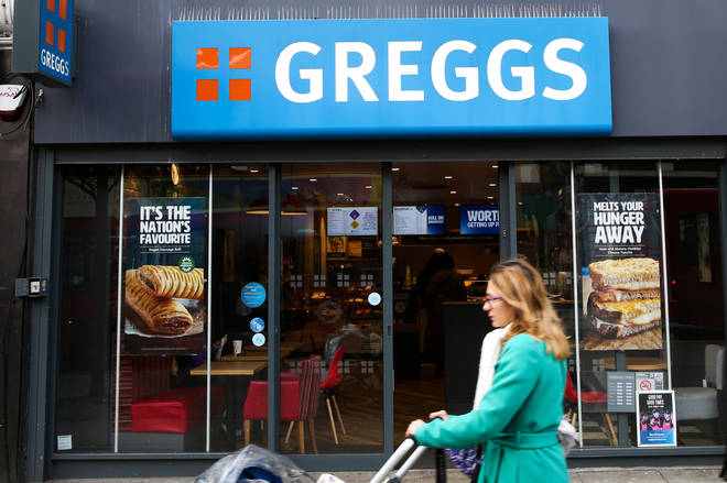 Stormzy was gifted a Greggs black card