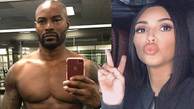 Kim Kardashian and Tyson Beckford