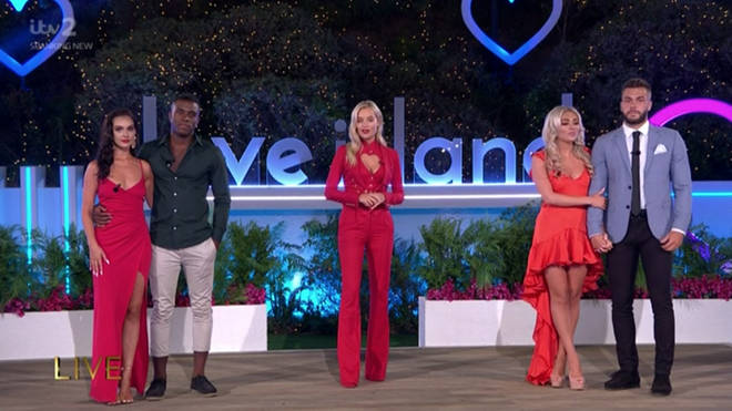 The Love Island 2020 final two couples