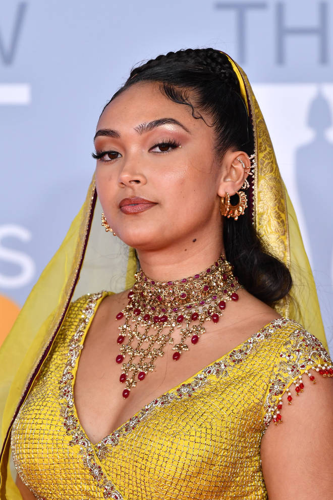 Joy Crookes at The BRIT Awards 2020