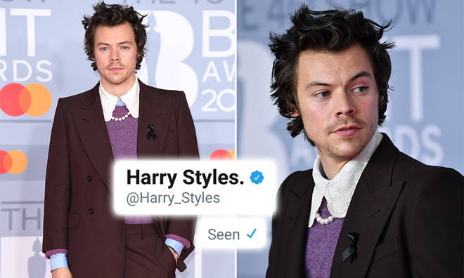 Harry Styles has been reading fans' direct messages