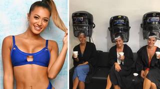 Kaz Crossley reveals the girls' secret salon trips