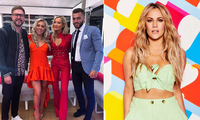 Paige Turley and Finn Tapp were informed of Caroline Flack's death off-camera