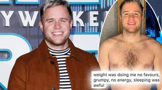 Olly Murs revealed his weight loss journey on Instagram