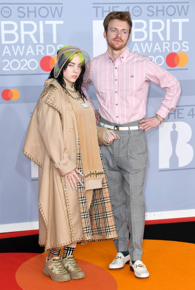Billie Eilish attended the 2020 BRITs with her brother, Finneas O'Connell