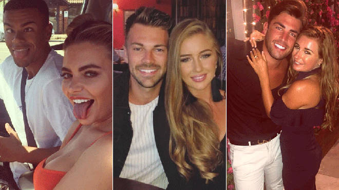 Love Island couples Wes, Megan, Georgia, Sam and Jack and Dani