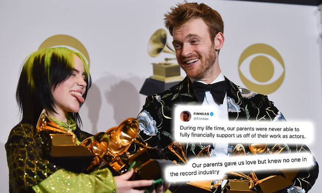 Finneas O'Connell explained how he and Billie Eilish helped their parents financially