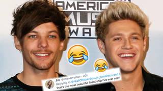 Louis Tomlinson rinses Niall Horan on Twitter