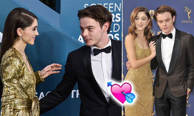 Charlie Heaton and Natalia Dyer have an on-screen and off-screen romance