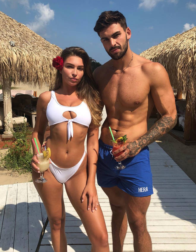 Zara McDermott and Adam Collard on holiday together