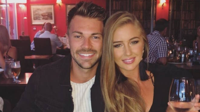 Sam Bird and Georgia Steel enjoy dinner date