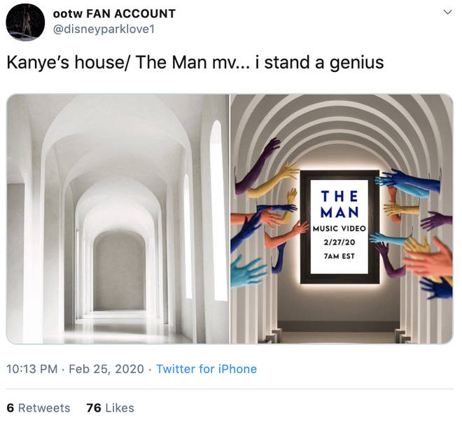 Taylor Swift's fans noticed her music artwork resembles Kimye's house
