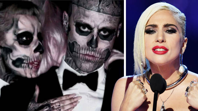 Lady Gaga Pays Tribute To Zombie Boy