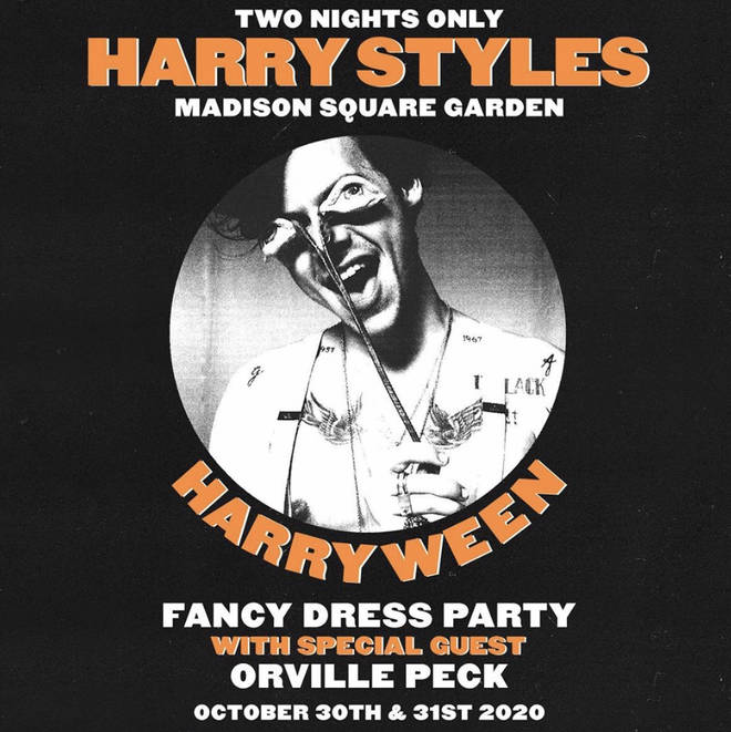 Harry Styles will perform for two nights during Halloween weekend