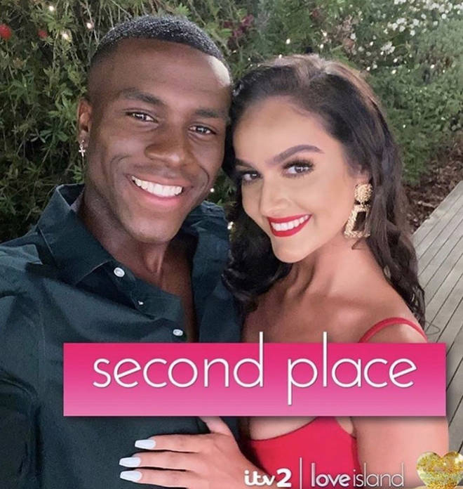 Siannise Fudge and Luke T finished Love Island as runners up