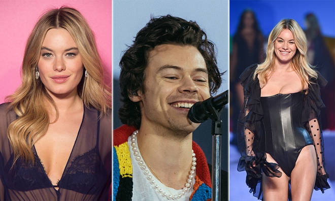 Camille Rowe has been thought to be the inspiration behind Harry Styles' 'Fine Line' album