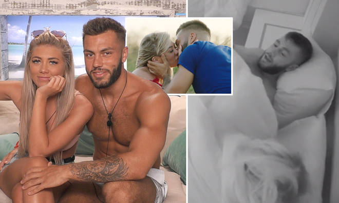 Paige Turley and Finn Tapp seemingly had sex in the Love Island villa